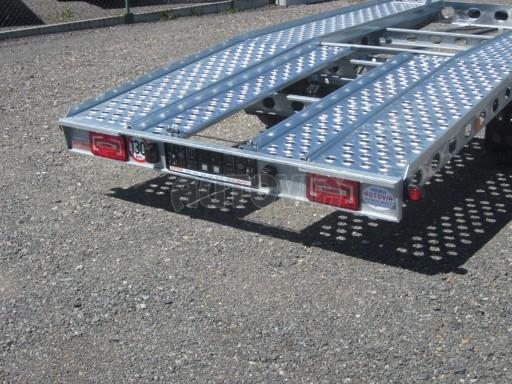 Dvouosý brzděný přívěs k přepravě automobilů PAV 2,0 č.18
