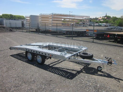 Dvouosý brzděný přívěs k přepravě automobilů PAV 2,0 č.19