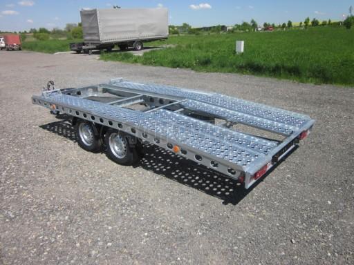 Dvouosý brzděný přívěs k přepravě automobilů PAV 2,0 č.20