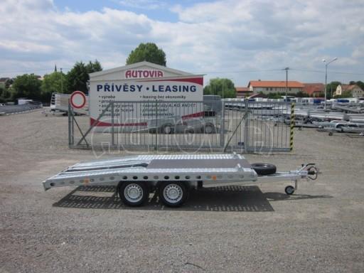 Dvouosý brzděný přívěs k přepravě automobilů PAV 2,0 č.22