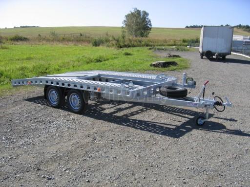 Dvouosý brzděný přívěs k přepravě automobilů PAV 2,0 č.25