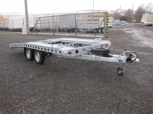 Dvouosý brzděný přívěs k přepravě automobilů PAV 2,0 č.29