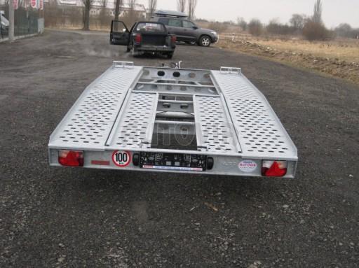 Dvouosý brzděný přívěs k přepravě automobilů PAV 2,0 č.31