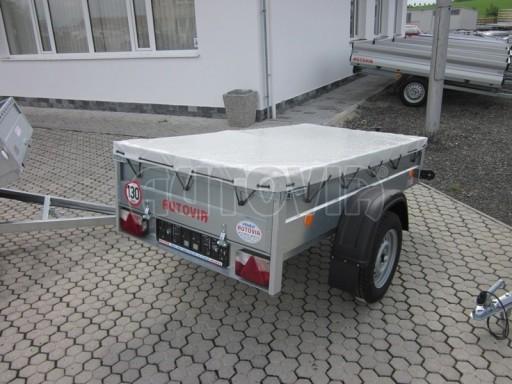 Jednoosý nebrzděný přívěs HD 3 750kg 2,06/1,10/0,35 č.34