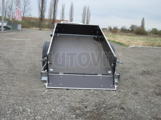 Jednoosý nebrzděný přívěs ZV 26 skl 2,5/1,24/0,35** č.11
