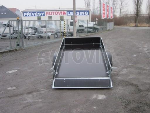 Sklopný přívěs s bočnicemi PV 750 2,10/1,28/0,30 pro čtyřkolky č.5
