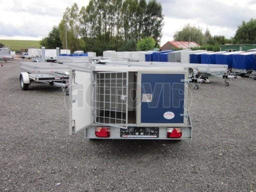 Přívěs pro psy AT 2,06/1,26/0,75 750kg č.7
