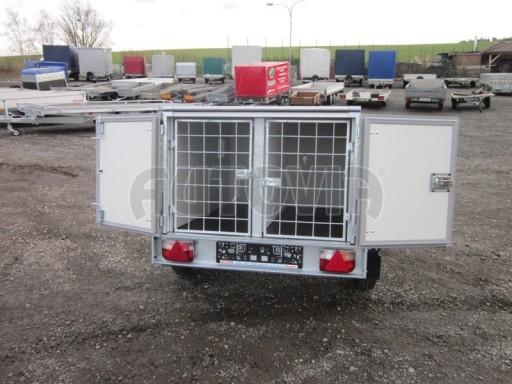 Přívěs pro psy AT 2,06/1,26/0,75 750kg č.1