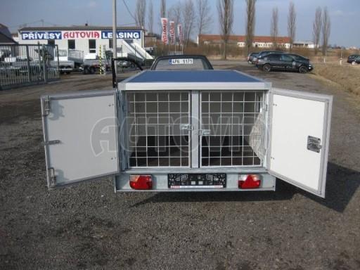 Přívěs pro psy AT 2,06/1,26/0,75 750kg č.18
