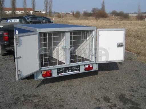 Přívěs pro psy AT 2,06/1,26/0,75 750kg č.19