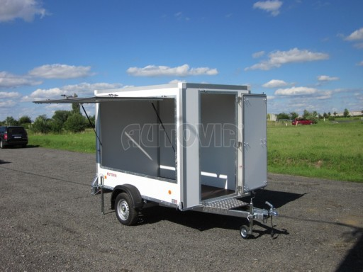 Prodejní stánek KIO 750kg 2,50/1,50/1,80** č.1