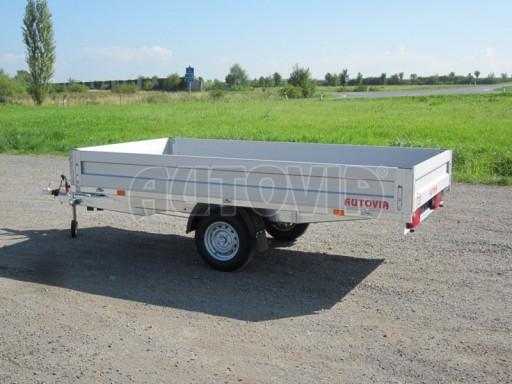 Jednoosý nebrzděný přívěs ZV 33 750kg N1 3,33x1,70/0,35 13