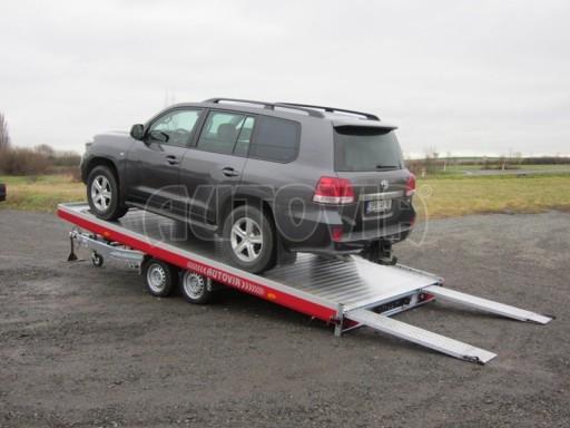 Plato pro převoz dlouhých vozidel JMB 2,7T 5,15x2,09 č.1