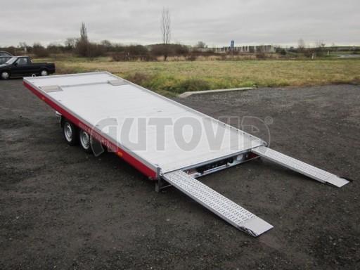 Plato pro převoz dlouhých vozidel JMB 2,7T 5,15x2,09 č.2