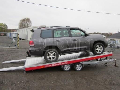 Plato pro převoz dlouhých vozidel JMB 2,7T 5,15x2,09 č.7