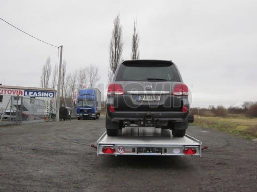 Plato pro převoz dlouhých vozidel JMB 2,7T 5,15x2,09 č.14