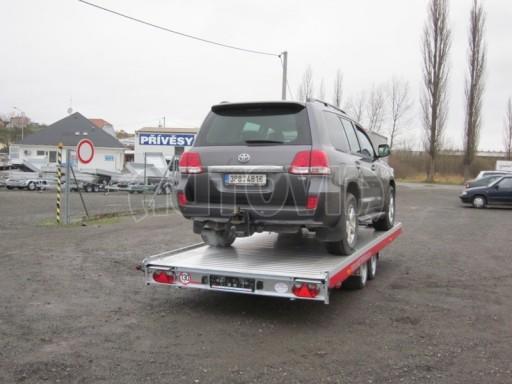 Plato pro převoz dlouhých vozidel JMB 2,7T 5,15x2,09 č.15