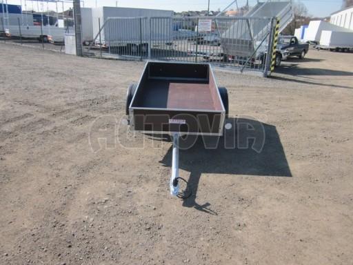 Jednoosý nebrzděný nákladní PROFI přívěs VAD 21 2,06x1,12/0,30* č.2