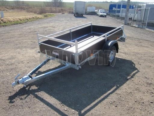Nebrzděný jednoosý PROFI přívěs VA 750kg 2,53x1,48/0,30 RE POČ zes. náprava* č.2