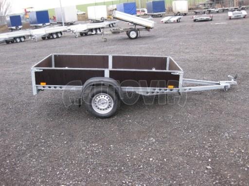 Robustní předimenzovaný základní rám, žárově zinkovaný PV 750kg N1 2,53x1,28/0,30 č.2