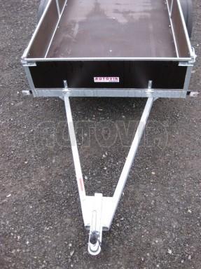 Robustní předimenzovaný základní rám, žárově zinkovaný PV 750kg N1 2,53x1,28/0,30 č.3