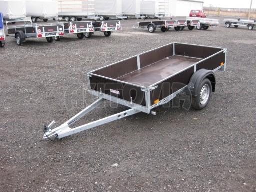 Robustní předimenzovaný základní rám, žárově zinkovaný PV 750kg N1 2,53x1,28/0,30 č.6
