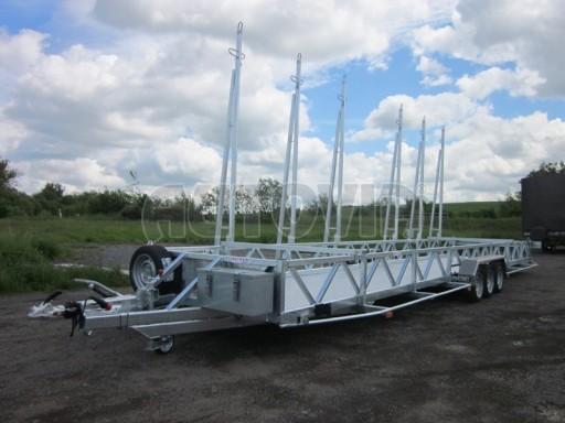 Třínápravový speciální přepravník bazénů BA 3,5T B3 9,73x1,74* č.2