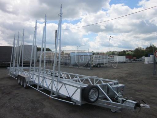 Třínápravový speciální přepravník bazénů BA 3,5T B3 9,73x1,74* č.9