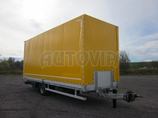Jednonápravový 18-ti paletový vzduchem brzděný nákladní přívěs AVG 10t 7,40/2,48/3,06 č.2