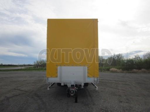 Jednonápravový 18-ti paletový vzduchem brzděný nákladní přívěs AVG 10t 7,40/2,48/3,06 č.3