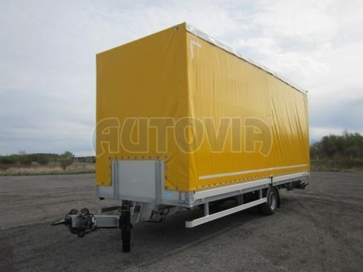 Jednonápravový 18-ti paletový vzduchem brzděný nákladní přívěs AVG 10t 7,40/2,48/3,06 č.4