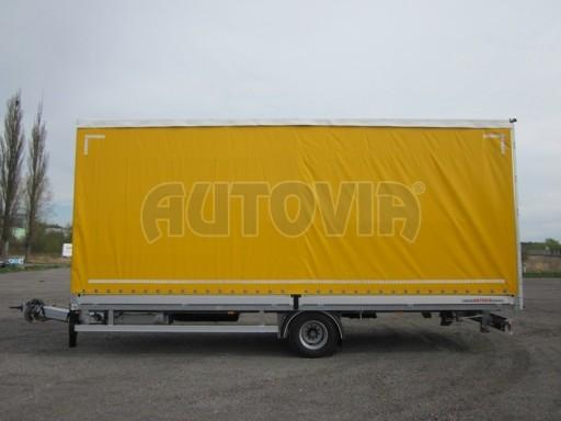 Jednonápravový 18-ti paletový vzduchem brzděný nákladní přívěs AVG 10t 7,40/2,48/3,06 č.5