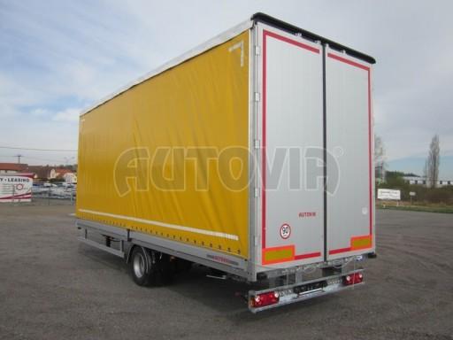 Jednonápravový 18-ti paletový vzduchem brzděný nákladní přívěs AVG 10t 7,40/2,48/3,06 č.6