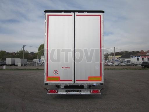 Jednonápravový 18-ti paletový vzduchem brzděný nákladní přívěs AVG 10t 7,40/2,48/3,06 č.7