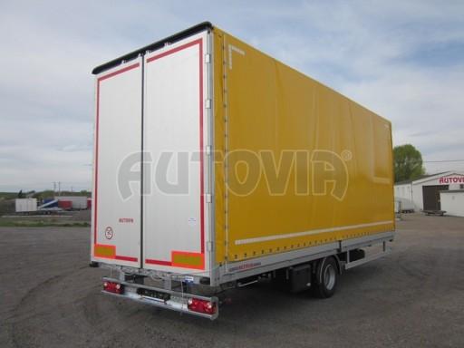 Jednonápravový 18-ti paletový vzduchem brzděný nákladní přívěs AVG 10t 7,40/2,48/3,06 č.8