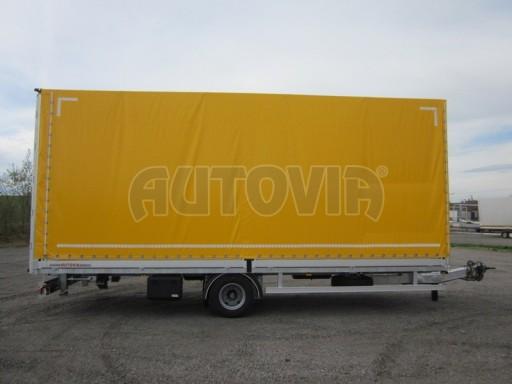 Jednonápravový 18-ti paletový vzduchem brzděný nákladní přívěs AVG 10t 7,40/2,48/3,06 č.9