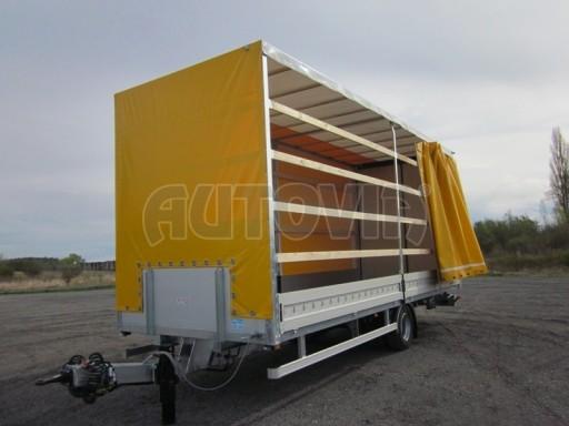Jednonápravový 18-ti paletový vzduchem brzděný nákladní přívěs AVG 10t 7,40/2,48/3,06 č.1