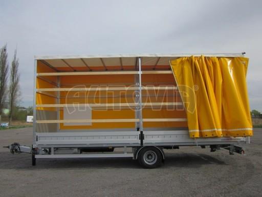 Jednonápravový 18-ti paletový vzduchem brzděný nákladní přívěs AVG 10t 7,40/2,48/3,06 č.10