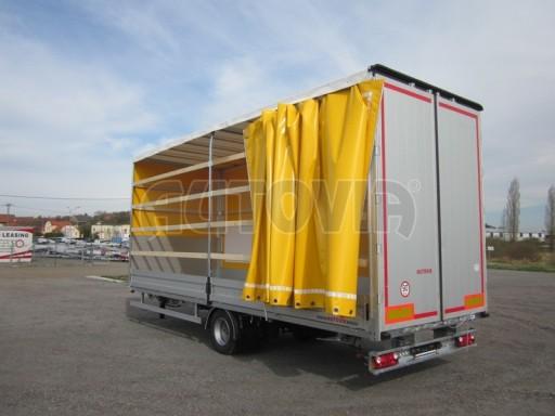 Jednonápravový 18-ti paletový vzduchem brzděný nákladní přívěs AVG 10t 7,40/2,48/3,06 č.11