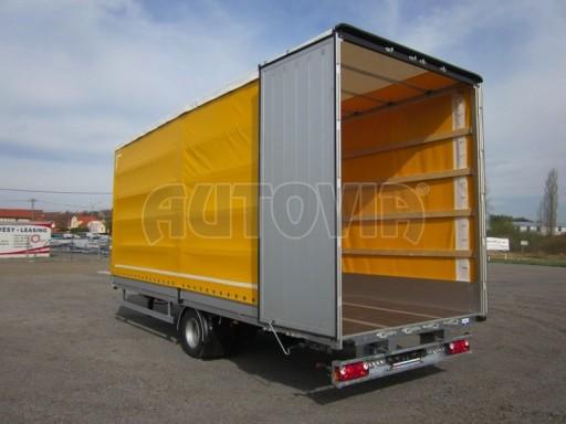 Jednonápravový 18-ti paletový vzduchem brzděný nákladní přívěs AVG 10t 7,40/2,48/3,06 č.12