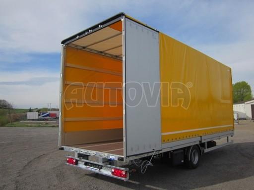 Jednonápravový 18-ti paletový vzduchem brzděný nákladní přívěs AVG 10t 7,40/2,48/3,06 č.14