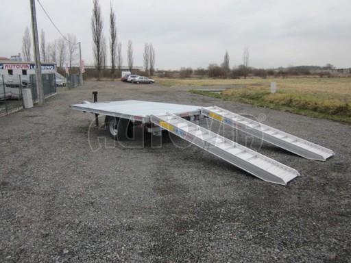 Vzduchem brzděné jednoosé plato bez bočnic AVG 5,6T 4,00/2,48 trakt. 40km č.4