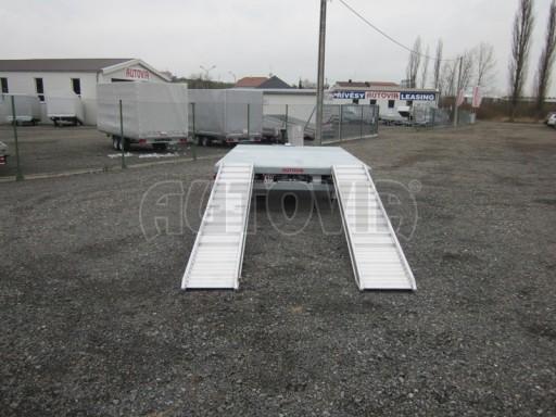Vzduchem brzděné jednoosé plato bez bočnic AVG 5,6T 4,00/2,48 trakt. 40km č.5