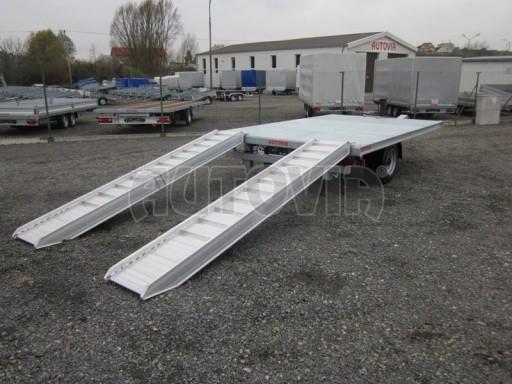 Vzduchem brzděné jednoosé plato bez bočnic AVG 5,6T 4,00/2,48 trakt. 40km č.6
