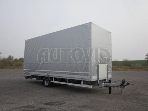 Jednonápravový 18-ti paletový vzduchem brzděný nákladní přívěs AVG 10t 7,37/2,48/3,06 č.3