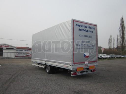 Jednonápravový 18-ti paletový vzduchem brzděný nákladní přívěs AVG 10t 7,37/2,48/3,06 č.4