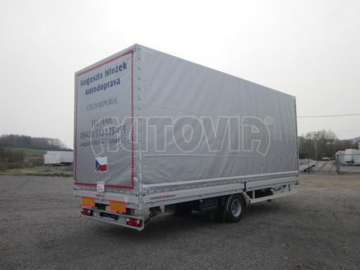 Jednonápravový 18-ti paletový vzduchem brzděný nákladní přívěs AVG 10t 7,37/2,48/3,06 č.6