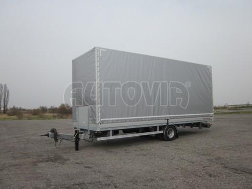 Jednonápravový 18-ti paletový vzduchem brzděný nákladní přívěs AVG 10t 7,37/2,48/3,06 č.1