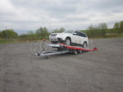 Přepravník automobilů s celohliníkovou ložnou plochou IM 2,7T 5,01x2,09 č.1