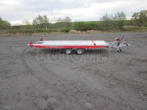 Přepravník automobilů s celohliníkovou ložnou plochou IM 2,7T 5,01x2,09 č.5